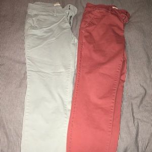 Blue & Pink Loft Denim Pants
